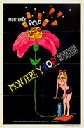 """Movie Posters:Rock and Roll, Monterey Pop (Leacock-Pennebaker, 1968). One Sheet (27"""" X 41"""")....."""