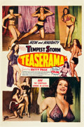 "Movie Posters:Sexploitation, Teaserama (Beautiful Productions Inc., 1955). One Sheet (27"" X41"").. ..."