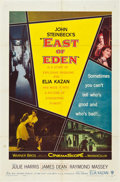 """Movie Posters:Drama, East of Eden (Warner Brothers, 1955). One Sheet (27"""" X 41""""). Drama.. ..."""