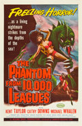 "Movie Posters:Science Fiction, The Phantom from 10,000 Leagues (American Releasing Corp., 1955).One Sheet (27"" X 41"").. ..."