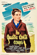 "Movie Posters:Foreign, The 400 Blows (Cocinor, 1959). French Affiche (23.5"" X 31.5"").. ..."