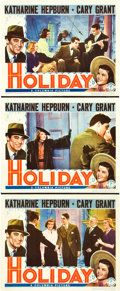 """Movie Posters:Comedy, Holiday (Columbia, 1938). Lobby Cards (3) (11"""" X 14"""").. ... (Total:3 Items)"""