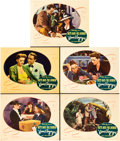 """Movie Posters:Romance, Now, Voyager (Warner Brothers, 1942). Lobby Cards (5) (11"""" X 14"""")..... (Total: 5 Items)"""