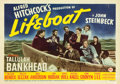 """Movie Posters:Hitchcock, Lifeboat (20th Century Fox, 1944). Title Lobby Card (11"""" X 14"""").. ..."""