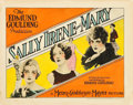 """Movie Posters:Drama, Sally, Irene and Mary (MGM, 1925). Title Lobby Card (11"""" X 14"""")....."""