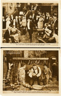 "Movie Posters:Adventure, The Romance of Tarzan (First National, 1918). Lobby Cards (2) (11""X 14"").. ... (Total: 2 Items)"