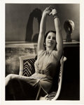 """Movie Posters:Miscellaneous, Norma Shearer by George Hurrell (MGM, 1934). Autographed Photo (8"""" X 10"""").. ..."""