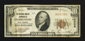 National Bank Notes:West Virginia, Charleston, WV - $10 1929 Ty. 1 The NB of Commerce Ch. # 13509. ...