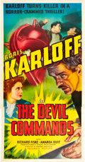 """Movie Posters:Horror, The Devil Commands (Columbia, 1941). Three Sheet (41"""" X 81"""").. ..."""