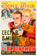 """Movie Posters:Western, The Plainsman (Paramount, 1936). One Sheet (27"""" X 41"""") Style B....."""