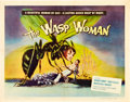 "Movie Posters:Science Fiction, The Wasp Woman (Film Group, 1959). Half Sheet (22"" X 28""). ScienceFiction.. ..."
