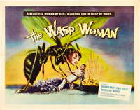 "The Wasp Woman (Film Group, 1959). Half Sheet (22"" X 28""). Science Fiction"