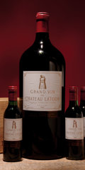 Red Bordeaux, Chateau Latour. Pauillac. 1982 1bn, 1hs, 1scl, 1lnl, 1lcc, 1depressed cork Bottle (2). 1982 2bn, 1ts, 1scl Half... (Total: 2Btls. & 3 Halves. )