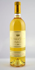 White Bordeaux, Chateau d'Yquem 2001 . Sauternes. owc. Bottle (12). ... (Total: 12 Btls. )