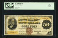 Large Size:Gold Certificates, Fr. 1190 $50 1882 Gold Certificate PCGS Fine 15.. ...