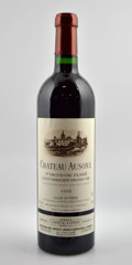 Red Bordeaux, Chateau Ausone. St. Emilion. 1998 Bottle (2). 2000 lsclBottle (1). 2001 Bottle (1). 2002 Bottle (1)... (Total: 5 Btls. )