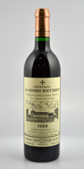 Red Bordeaux, Chateau La Mission Haut Brion 1988 . Pessac-Leognan. 2lwisl,1lscl. Bottle (4). ... (Total: 4 Btls. )