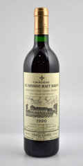 Red Bordeaux, Chateau La Mission Haut Brion 1990 . Pessac-Leognan. Bottle (3). ... (Total: 3 Btls. )