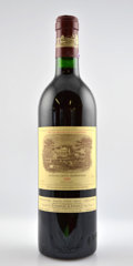 Red Bordeaux, Chateau Lafite Rothschild 1986 . Pauillac. 1lnl. Bottle (5). ... (Total: 5 Btls. )
