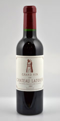 Red Bordeaux, Chateau Latour. Pauillac. 2005 Bottle (1). 2005 Half-Bottle(4). ... (Total: 1 Btl. & 4 Halves. )