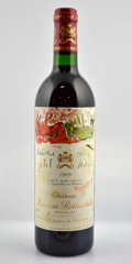 Red Bordeaux, Chateau Mouton Rothschild 1989 . Pauillac. 6tsl. Bottle (6).... (Total: 6 Btls. )