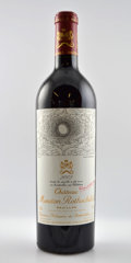 Red Bordeaux, Chateau Mouton Rothschild 2002 . Pauillac. 1ltl. Bottle (3).... (Total: 3 Btls. )