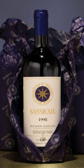 Italy, Sassicaia. Tenuta San Guido . 1998 2lbsl, owc Bottle (6). 1999 owc Bottle (6). 2000 Bottle (6). ... (Total: 18 Btls. )