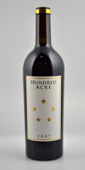 Domestic Cabernet Sauvignon/Meritage, Hundred Acre Cabernet Sauvignon 2007 . Kayli MorganVineyard. 2owc. Bottle (6). ... (Total: 6 Btls. )