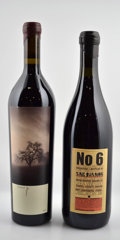 Domestic Pinot Noir, Sine Qua Non Pinot Noir. 2004 Covert Fingers 2lscl, 2crcBottle (4). 2001 No. 6 4lwrl, 2ltl Bottle (4). ... (Total:10 Btls. )