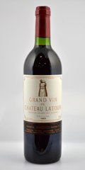 Red Bordeaux, Chateau Latour 1983 . Pauillac. 1bn, 1ts, 2vhs. Bottle (7). ... (Total: 7 Btls. )