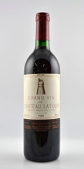 Red Bordeaux, Chateau Latour 1990 . Pauillac. 1bn, 1lwrl, 1bsl. Bottle (12). ... (Total: 12 Btls. )