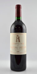 Red Bordeaux, Chateau Latour 1996 . Pauillac. 9lbsl, 1bsl. Bottle (12).... (Total: 12 Btls. )