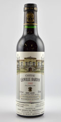 Red Bordeaux, Chateau Leoville Barton 1995 . St. Julien. 10bsl.Half-Bottle (22). ... (Total: 22 Halves. )