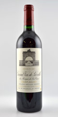 Red Bordeaux, Chateau Leoville Las Cases. St. Julien. 2001 Bottle (6).2002 2lbsl Bottle (6). ... (Total: 12 Btls. )