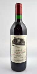 Red Bordeaux, Chateau l'Evangile 1990 . Pomerol. 3lbsl, 1nl. Bottle (12). ... (Total: 12 Btls. )