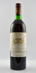 Red Bordeaux, Chateau Margaux 1982 . Margaux. 6bn, 3ts, 2vhs, 5lbsl, 2bsl,1tc, different importers. Bottle (12). ... (Total: 12 Btls. )
