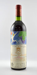 Red Bordeaux, Chateau Mouton Rothschild 1982 . Pauillac. 1bn, 2ts, 3vhs,6bsl, 6lscl, 1lnc, 1tc, different importers. Bottle (6). ...(Total: 6 Btls. )