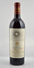 Red Bordeaux, Chateau Mouton Rothschild 2002 . Pauillac. 3lbsl. Bottle (12). ... (Total: 12 Btls. )