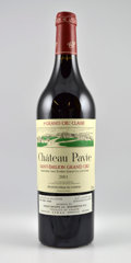 Red Bordeaux, Chateau Pavie 2001 . St. Emilion. Bottle (12). ... (Total:12 Btls. )