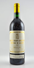 Red Bordeaux, Chateau Pichon Lalande1989 . Pauillac. 2lbsl . Bottle (12). ... (Total: 12 Btls. )