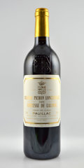 Red Bordeaux, Chateau Pichon Lalande 2000 . Pauillac. 1lbsl. Bottle (12). ... (Total: 12 Btls. )