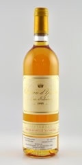 White Bordeaux, Chateau d'Yquem 1995 . Sauternes. 1bsl, 4lbsl. Bottle (11).... (Total: 11 Btls. )