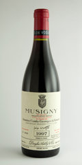 Red Burgundy, Musigny 1997 . Vieilles Vignes, Comte de Vogue . Bottle(12). ... (Total: 12 Btls. )