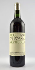 Domestic Cabernet Sauvignon/Meritage, Ridge Cabernet Sauvignon. Monte Bello. 1994 Bottle (3). 1997Bottle (4). 2001 2nl Bottle (3). ... (Total: 10 Btls. )