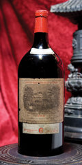 Red Bordeaux, Chateau Lafite Rothschild 1949 . Pauillac. bn, 1hbsl, 1nl. 2.5-liter (1). ... (Total: 1 2.5L. )