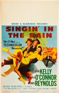 """Movie Posters:Musical, Singin' in the Rain (MGM, 1952). Window Card (14"""" X 22"""").. ..."""
