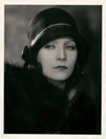 "Movie Posters:Drama, Greta Garbo by Ruth Harriet Louise (MGM, late 1920s). PortraitPhoto (10"" X 13"").. ..."
