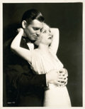 """Movie Posters:Drama, Clark Gable and Carole Lombard in """"No Man of Her Own"""" (Paramount,1932). Photo (7.75"""" X 10"""").. ..."""