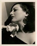 "Movie Posters:Miscellaneous, Joan Crawford by George Hurrell (MGM, 1930s). Portrait Photo (8"" X10"").. ..."