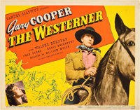 """The Westerner (United Artists, 1940). Title Lobby Card (11"""" X 14"""")"""
